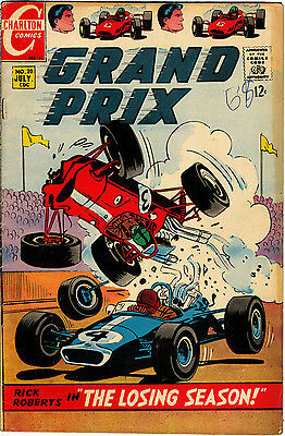 Grand Prix No 20, 7/68, The Losing Season by Jack Keller, The Tiger Taker, VG