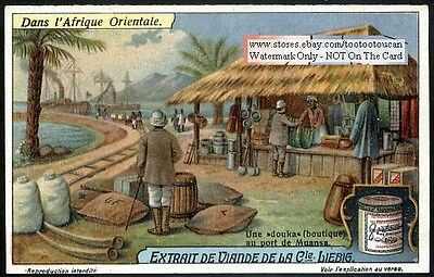 Merchant Boutique Port Of Muansa Africa 1920s Trade Ad Card
