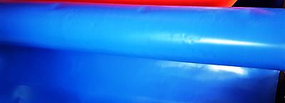 1 Foot Commercial Vinyl StripBlue Repair Inflatable Bounce House Patch Material