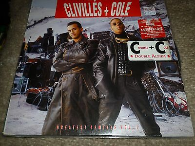 Clivillés + Cole ‎– Greatest Remixes Vol. 1 2x Vinyl LP Columbia ‎469446 1 1992