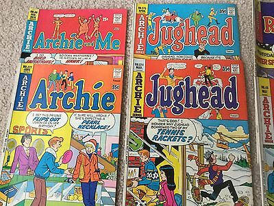 Archie's Comic books, mixed lot of 8 Bronze Age Comics