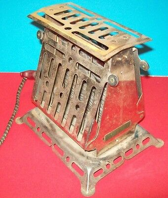Lady Dominion Toaster -Antique- Made in Minneapolis, USA - Vintage - WORKS!!!