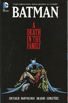 Batman A Death in the Family trade paperback Robin DC Comics Starlin Wolfman