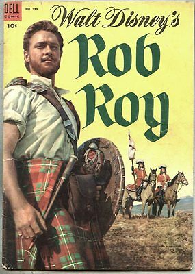 Four Color Comics #544-1954 vg- Russ Manning / Rob Roy based on the Disney film