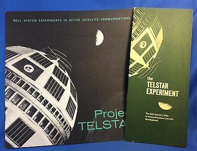 c 1960 BELL Telephone System SATELLITE Communications PROJECT TELSTAR Booklet