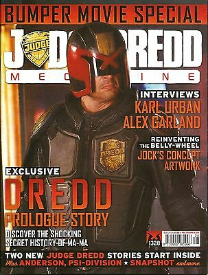 JUDGE DREDD MEGAZINE # 328 / 16th OCT 2012 / REBELLION / UK EXC / N/M / 2000AD