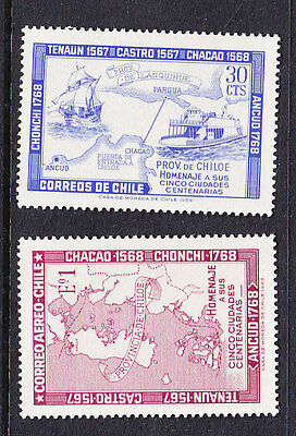 Chile - 1968 Five Town Centenary MH