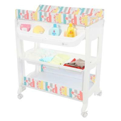 MyChild Peachy Changing Station (Multi Zoo) With Baby Bath and Changing Mat