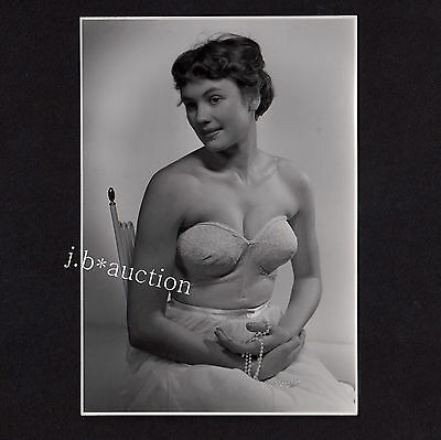 Fashion LINGERIE UNDERWEAR UNTERWÄSCHE DESSOUS Mode * Werbe-Foto 50s Ad Photo #5