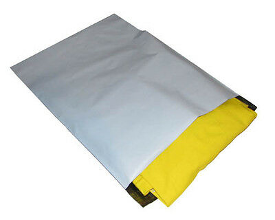 FREE POST SYD! 2000x Plastic Poly Mailer Courier Satchel 350x480mm Bag PME5B