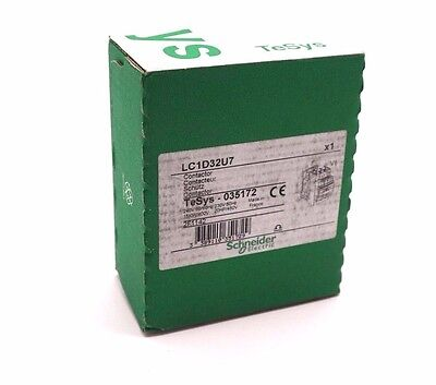 New Sealed Telemecanique Lc1D32U7 Contactor 240V 50/60 Hz