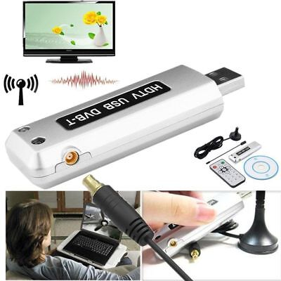 Tv Digitale Terrestre Tv Stick Usb Hdtv Dvb-T Telecomando Antenna Pc Decoder Iut