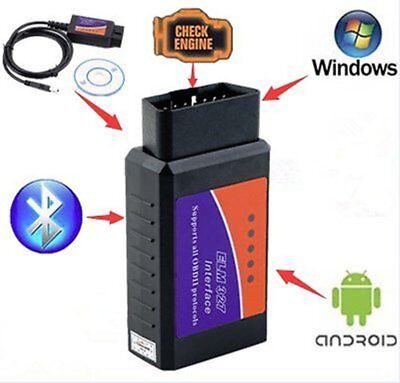 ELM327 OBDII OBD2 Bluetooth Auto Car Diagnostic Interface Scanner PY