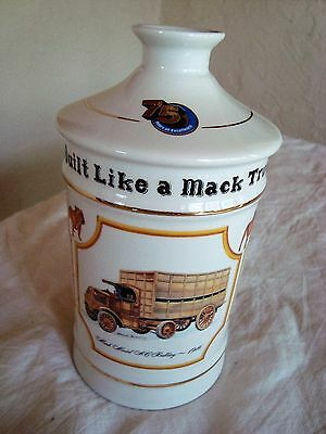 Mack Truck Decantor For 75Th Anniversary 1St Addition