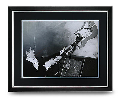 Pete Townshend Signed Photo Large Framed Display The Who Guitarist Autograph COA