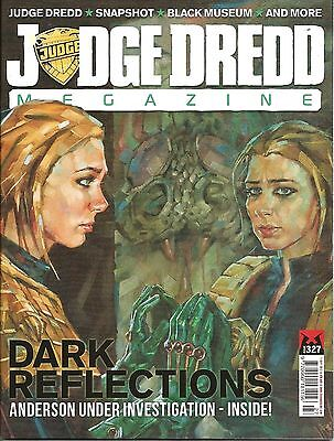JUDGE DREDD MEGAZINE # 327 / 11th SEP 2012 / REBELLION / UK EXC / N/M / 2000AD