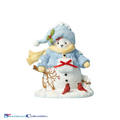 Cherished Teddies 4059138 22nd Snowbear with Cherry Blossoms 2017
