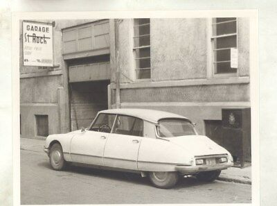 1970 Citroen DS in Quebec ORIGINAL Photograph wy3253