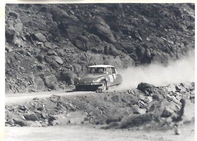 1971 Citroen DS in Rally ORIGINAL Factory Photograph wy3264