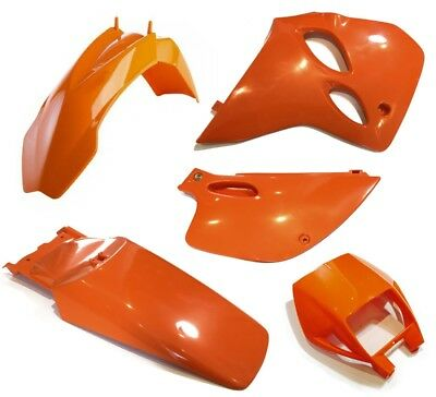 Plastiksatz KTM LC4 Supercompetition ab 94 orange Plastikkit 400 620