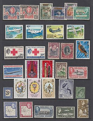BRITISH COMMONWEALTH collection of sets, singles, odds, MNH / MH / USED 4 scans