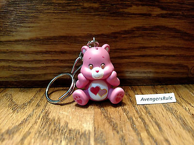 Care Bears Vinyl Keychain Series KidRobot Love-a-Lot Bear 2/24