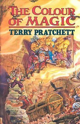 The Colour of Magic by Terry Pratchett 9780861403240 (Hardback, 1989)