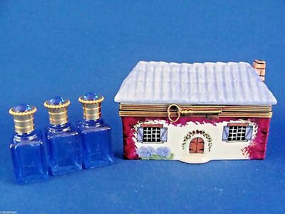 Parry-Vieille - Perfume House -  authentic FRENCH LIMOGES box