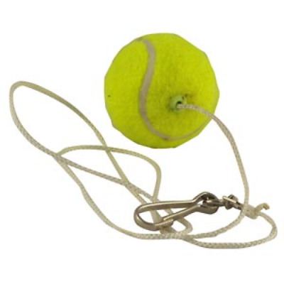 Buffalo Sports Paddle Tennis Ball On String - Heavy Duty String W/ Clip (Fun051)