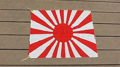Imperial Japanese Sunrise Rising Sun Flag 21x26 Inches