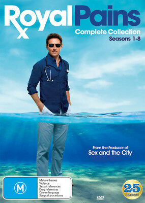 Royal Pains - Complete Series (Season 1 2 3 4 5 6 7 8) DVD New / Sealed