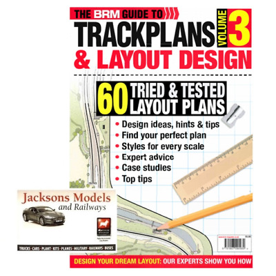 BRM Guide to Trackplans & Layout Design Volume 3 2017 New