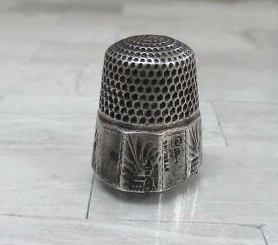 Sterling Silver Vintage #10 Thimble ~ 5.6 grams ~ 10-K5971
