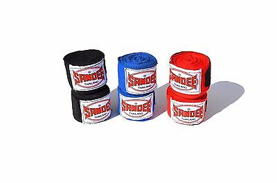 Sandee Red Blue Black 5m Hand Wraps Muay-Thai Boxing Adults