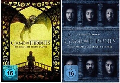 Game of Thrones Staffel 5+6 DVD Set NEU OVP