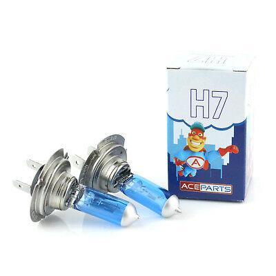 Audi A3 8L1 H7 55w Super White Xenon HID Front Fog Light Bulbs Pair