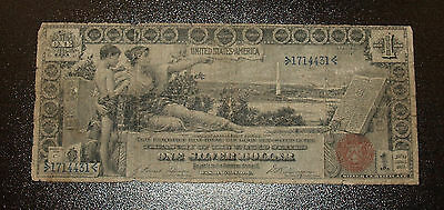 """Series of 1896 $1 Silver Certificate """"Educational"""" Note"""