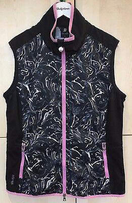 **SALE** DAILY SPORTS 'MARBLE' GILET  size MEDIUM
