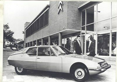 1971 ? Citroen SM ORIGINAL Factory Photograph wy3273