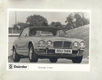 1969 ? Daimler Sovereign 2 Door ORIGINAL Factory Photograph wy3328