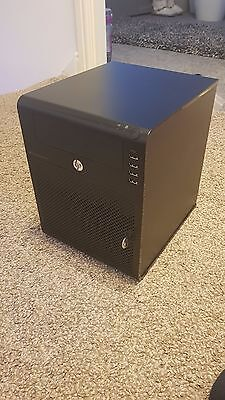 HP PROLIANT MICROSERVER Gen7 G7 Dual-Core 4GB RAM 2x250GB HDD RAID - £90.24 | PicClick UK