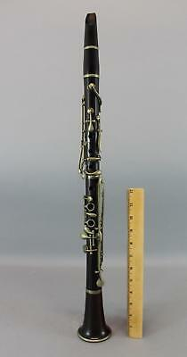 Antique Circa 1870s S.A. Chappell Rosewood Albert System Clarinet, NR