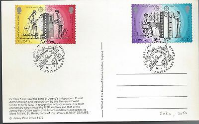 1979 Jersey FDC New Post Office