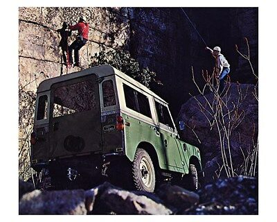 1973 Land Rover Factory Photo ca8577