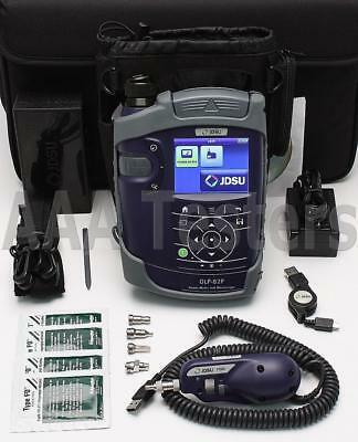 JDSU OLP-82P SM MM Power Meter Fiber Inspection Kit w/ P5000i Microscope OLP 82P