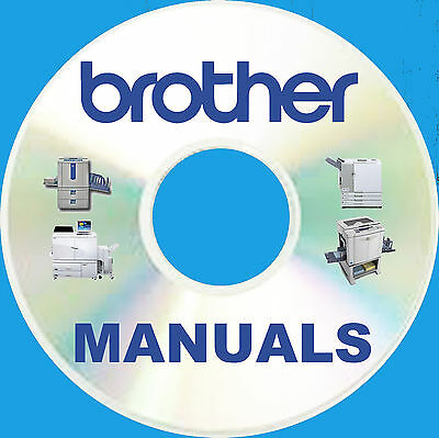BIGGEST BROTHER mfc Multi FAX Printer Copier SERVICE MANUALS Manual Set BEST DVD