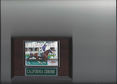 California Chrome Plaque Horseracing Horse Racing Turf Kentucky Derby