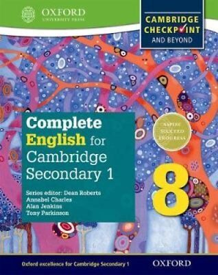 Complete English for Cambridge Secondary 1 Student Book 8 For C... 9780198364665