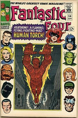 Fantastic Four #54 - VF+