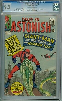 Tales To Astonish #55 - CGC Graded 9.2